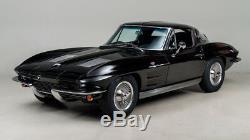 1 1963 Vette Corvette Sport Car 43 Chevrolet 18 Vintage 24 Carousel Black 12