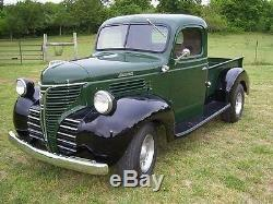 1 Plymouth Pickup Truck 1940s Wagon Hot Rod Antique Vintage Classic Car 24 Metal