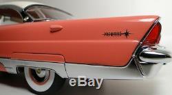 1 Vintage 1950s Ford Lincoln Mercury Car Tailfin Concept Rare Carousel Coral 18