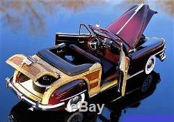 1 Vintage Sport Car InspiredBy Ford Antique 1940s GT 18 T A 24 Model 40 Metal 12