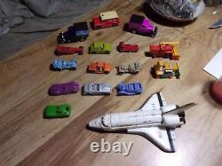 10 Vintage Tootsie Toys Metal Cars And 6 Matchbox