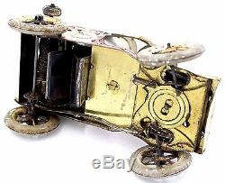 1900s LEHMANN TUT TUT MAN BLOWING HORN ON CAR MADE IN GERMANY WORKS GREAT