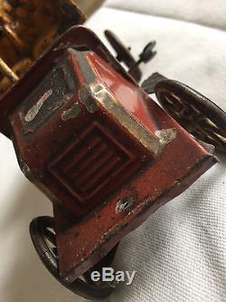 1904 Rare prototype Bing De Dion Bouton windup model car