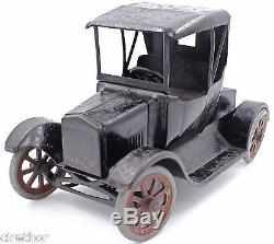 1920s Buddy L Pressed Steel Toy Model T Flivver Car Coupe 210