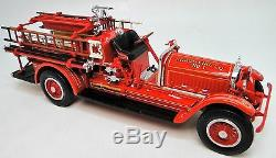 1920s Ford Fire Truck Vintage Antique A 1 T Metal Model 24 Engine Pickup Car 18