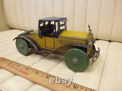 1920s MARX Racer Tin Lithographed Wind Up Clockwork Car