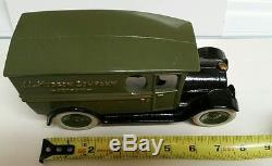 1923 buick CAST IRON ARCADE KENTON car HUBLEY reproduction Delivery Truck