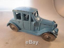 1929 Kenton Cast Iron 6 baby blue 2 door coupe car, super Nice Original