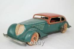 1930's Guntherman Distler Windup Tin Limousine Car, Nice Original