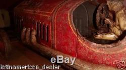 1930's PRE WAR DISTLER RACE CAR VOITURE ORIGINAL COND. VERY OLD TOY MUSEUM PIECE