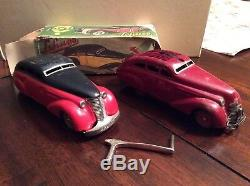 1930's SCHUCO TIN MAYBACH STREAMLINED LIMOUSINE 1010 & 2008 WIND UP Germany
