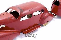 1930s Lasalle Wyandotte Pressed Steel Car With Trailer