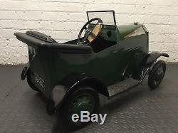 1930s Tri-ang Vauxhall Tourer Pedal Car