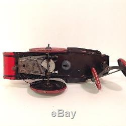 1930s Whoopee Cowboy Crazy Car Marx Tin Wind Up Toy Vintage