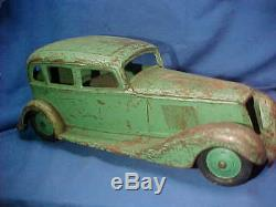 1932 GRAHAM PAIGE Sedan 19 PRESSED STEEL Toy CAR by COR-COR Toy Co