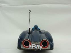 1950's ALPS JAPAN BATMAN BATMOBILE SPORTS CAR TIN FRICTION SUPER HERO COMIC TOY