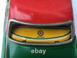 1950's NASH RAMBLER Tri-Color Tin Friction 8 CAR Lithographed Kusama Toy- Japan