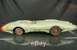 1950's Rare Yonezawa Atom Jet #58 Race Car Space Toy Bodies For Parts Only