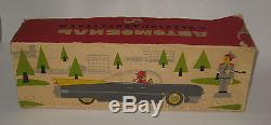 1950's Russian Futura Tin Litho Car Toy Battery-op Works NMIB VERY RARE #BX54