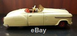 1950's Schuco Combinato 4003 Tin Wind-Up Car withKey and original box