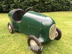 1950s Brooklands Racer Pedal Car