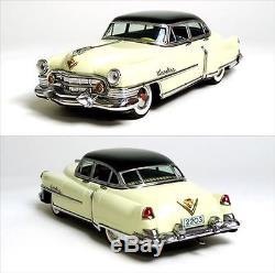 1951 Cadillac 12 Battery Operated Car withOriginal Box Marusan Japan Vintage 472