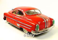 1953 Pontiac Sedan 14 Japanese Tin Car withDriver by Ichiko NR