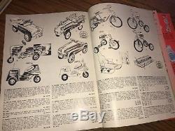 1955-56 Americana Christmas catalog vintage toys Huffy bikes pedal cars