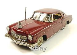 1956 Lincoln Continental 11 Japanese Tin Car by Linemar NR