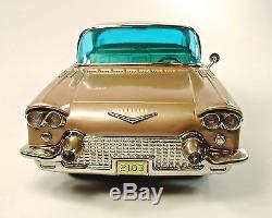1957 Cadillac Eldorado Brougham 15 Japanese Tin Car with Original Box NR