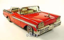1958 Mercury Montclair 2-Door Hardtop Japanese Tin Car by Yonezawa NR