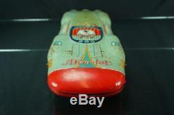 1958 Yonezawa 58 Atom Jet Racer Race Car Body Toy Part Large Tin Friction Space