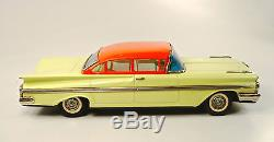 1959 Chevrolet 12.5 4-Door Sedan Japanese Tin Car by Daito NR