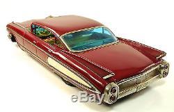 1960 Cadillac Fleetwood 18 4-Door Hardtop Japanese Tin Car by Yonezawa NR