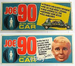 1960S JOE 90 Battery Operated Car Century 21 toys BOXED Gerry Anderson TV21