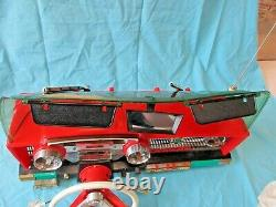 1960s Deluxe Reading Corp Toy Car Dashboard Playmobile Topper JL Great Shape