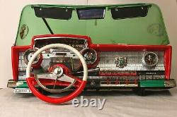 1960s Deluxe Reading Corp toy car dashboard Playmobile Works