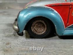 1960s NOMURA VW Beetle Space Patrol Car R-10 Works Read Desc Sold As Is
