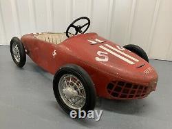 1960s Sharknose Ferrari Pedal Car