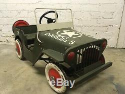 1960s Tri-ang Jeep Pedal Car