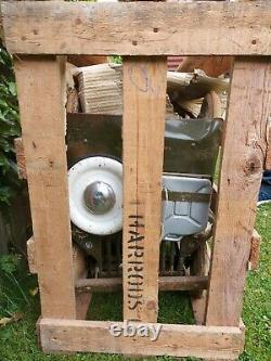 1960s Triang Jeep Pedal Cars A Pair In Original Wooden Harrods Crate Rare