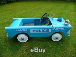 1960s Triang Panda Police Patrol Pedal Car