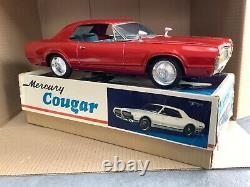 1960s Vintage Friction Tinplate Asakusa Ford Mercury Cougar A1 Japan