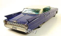 1961 Cadillac 14 Sedan de Ville Japanese Tin Car by Yonezawa NR