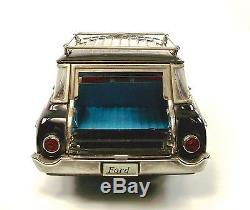 1962 Ford 4-Door Ranch Wagon 12 Japanese Tin Car by ATC NR