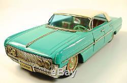 1962 Oldsmobile Starfire Japanese Tin Car with Original Box by Ichiko NR