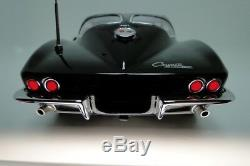 1963 Corvette Stingray Chevrolet Chevy Sports Car Carousel Blk 55 zR1 z06 57