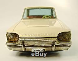 1964 Ford Thunderbird 2 Door Hardtop Japanese Tin Car by ATC NR