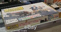 1965 Aurora 1660 Model Motoring Thunderjet 500 Slot Car Set Vintage Toy