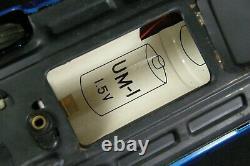 1966 Bandai Blue Cadillac Gear Shift Car Tin Litho Electric Battery Powered